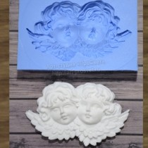 Silicone Mold - Two Angels