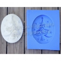 Silicone Mold - Cameo with...