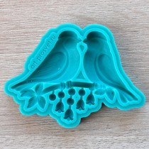 Silicone Mold - Birds kiss