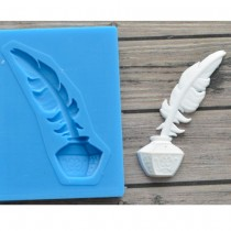 Silicone Mold - Feather...