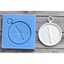 Silicone Mold - Compass