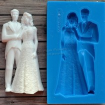 Silicone Mold - Wedding pair