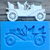 Silicone Mold - Retro car 1