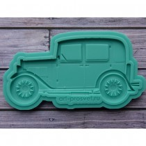 Silicone Mold - Retro car 2