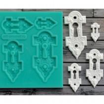 Silicone Mold - Keyholes