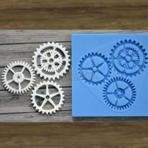 Silicone Mold - Set of gears