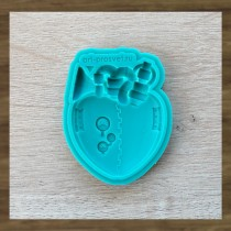 Silicone Mold - Steam heart