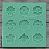 Silicone Mold - FLOWERS
