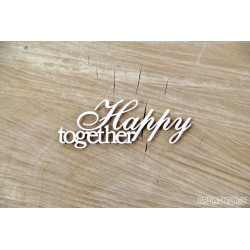 Chipboard - Wedding & Love,text