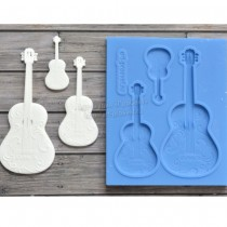 Silicone Mold -  Guitars
