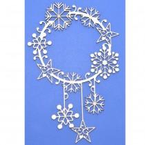 Chipboard - Christmas frame