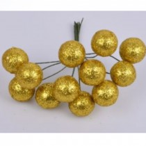 Wire Bead -  Glitter bauble...