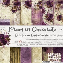 Scrapbooking Papers - PLUM...