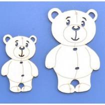 Chipboard - Teddy Bears