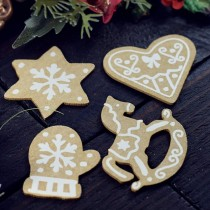 CHIPBOARD - Gingerbreads 4pcs