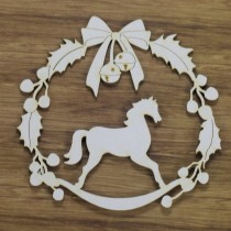 CHIPBOARD - Wreath with a...