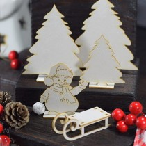 CHIPBOARD 3D - Snowman in...