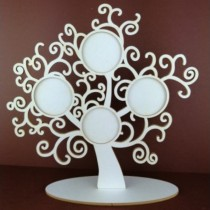 Chipboard 3D - FAMILY TREE...