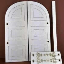 Chipboard Card - Door