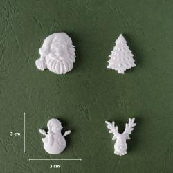 Mold 49 - Christmas Figurines