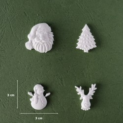 Mold 49 - Christmas Figurines