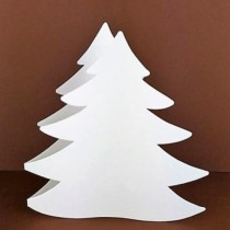 Blank Card - CHRISTMAS TREE...