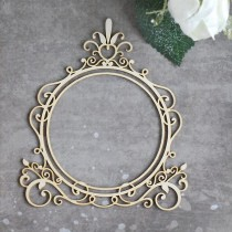 Chipboard - Pretty  frame