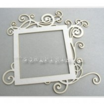 Chipboard - Large square frame