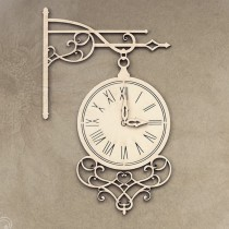 Chipboard - Retro street clock