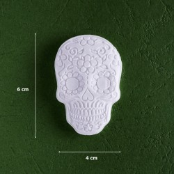 Mold 25- Halloween Skull