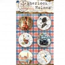Adhesive Badges - Sherlock...