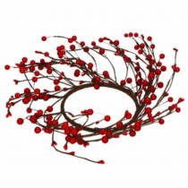 Wreath Berries - RED 12 cm