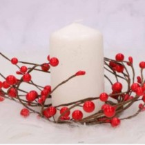 Wreath Berries - RED 8cm