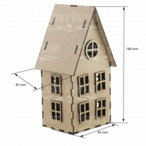 MDF - House 3D