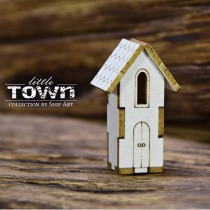 Chipboard 3D - LITTLE TOWN...