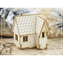 Chipboard - Mini House - 3D