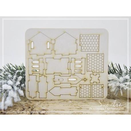 Chipboard - Mini Church- 3D