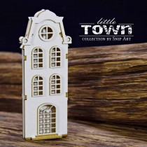 Chipboard 3D- LITTLE TOWN -...
