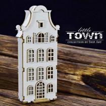 Chipboard 3D- LITTLE TOWN -...