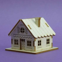 Chipboard 3D - Tiny House