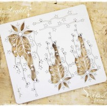 Chipboard - Snowflakes with...