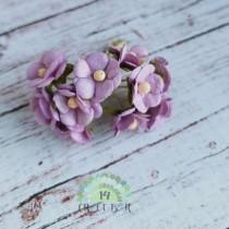 Mini paper flowers - VIOLET