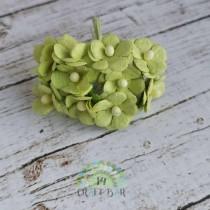 Mini paper flowers - PASTEL...