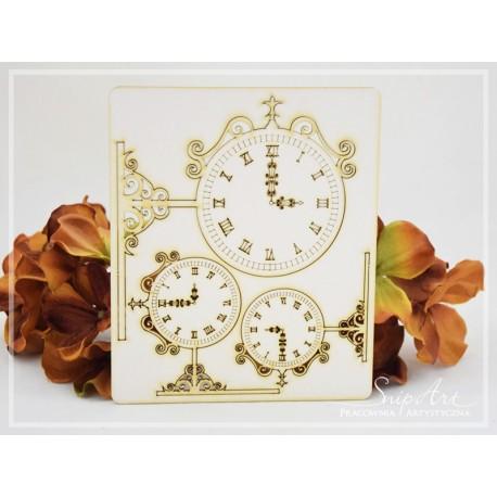 Chipboard - Street Clocks