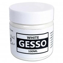 Acrylic Gesso - WHITE 100ml