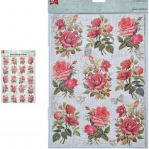 Decoupage Papers A4 - Rose...