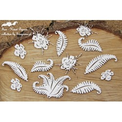 Chipboard- Fern Set