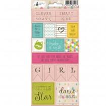Sticker sheet - LITTLE GIRL 02