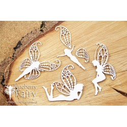 Chipboard- Blueberry Fairy - Big Fairies