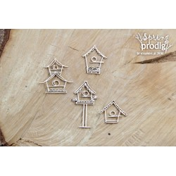Chipboard- Birdhouses